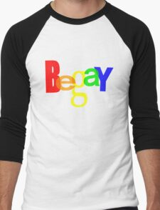 BeGay Men's Baseball ¾ T-Shirt
