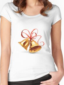 Christmas Bell Women's Fitted Scoop T-Shirt