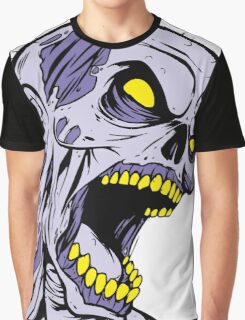 Zombie Head Graphic T-Shirt