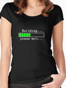 Building...please wait... Women's Fitted Scoop T-Shirt