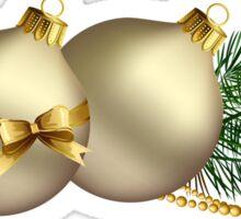 Christmas Balls Sticker