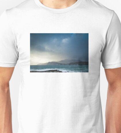 Storm clouds over Sliabh Liag Unisex T-Shirt