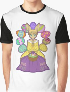 Lady Easter Graphic T-Shirt