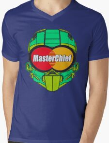 MasterChief Card Mens V-Neck T-Shirt