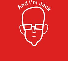 And I'm Jack (white lines) T-Shirt