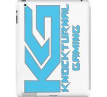 Knockturnal Gaming Logo with name iPad Case/Skin