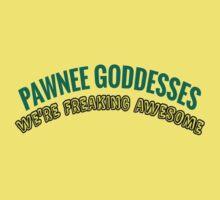 Leslie Knope Pawnee Goddesses Badge One Piece - Short Sleeve