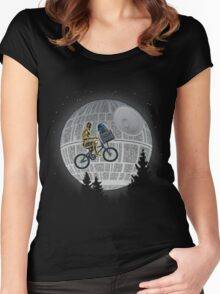 Phone Home  Women's Fitted Scoop T-Shirt