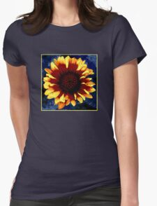Firewheel Womens Fitted T-Shirt
