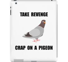 Revenge Pigeon iPad Case/Skin
