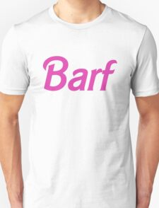 Barf Pink Barbie Letters T-Shirt
