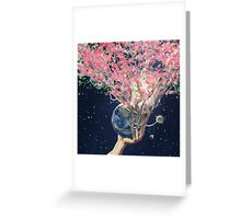 Love Makes The Earth Bloom Greeting Card