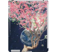 Love Makes The Earth Bloom iPad Case/Skin