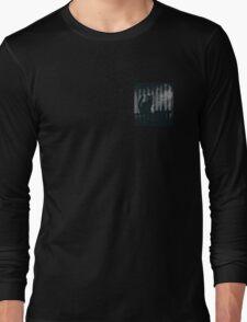 dark gothic cat Long Sleeve T-Shirt