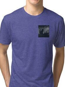 dark gothic cat Tri-blend T-Shirt