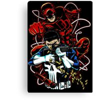 Dare to Punish! 02 (Crab Metalitees x CoDDesigns) Canvas Print