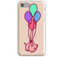 Balloon Piggy iPhone Case/Skin