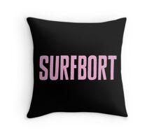 Pastel Pink Surfbort Beyonce Design Throw Pillow