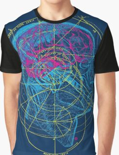Head and Brain Graphic T-Shirt