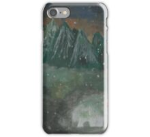 Sansa playing with snow iPhone Case/Skin