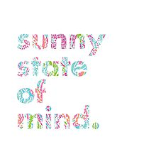Lilly Pulitzer Sunny State of Mind Photographic Print