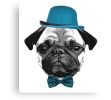 Mops Puppy French Bulldog Canvas Print