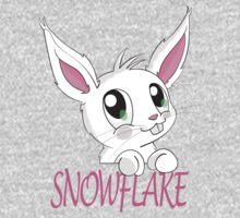 Snowflake bunny One Piece - Long Sleeve