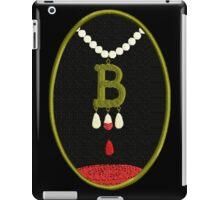 Anne Boleyn's Bloody Necklace iPad Case/Skin