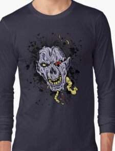 Zombie painting Long Sleeve T-Shirt