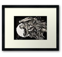 The Demon Boy COLOUR Framed Print