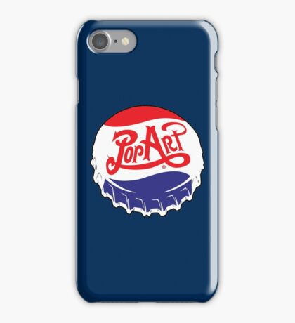 POP Art Bottle Cap iPhone Case/Skin