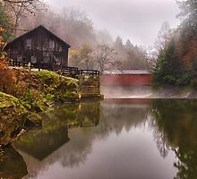 Morning At the Mill - McConnell's Mill, PA by Kathy Weaver