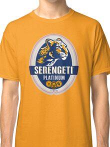 SERENGETI PLATINUM TANZANIA LAGER BEER Classic T-Shirt