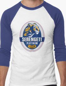SERENGETI PLATINUM TANZANIA LAGER BEER Men's Baseball ¾ T-Shirt