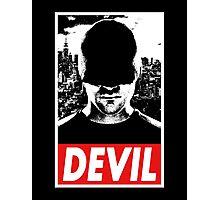DAREDEVIL - Obey Design Photographic Print