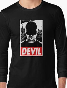 DAREDEVIL - Obey Design Long Sleeve T-Shirt