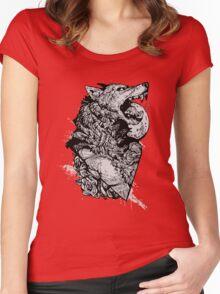 Werewolf Therewolf Women's Fitted Scoop T-Shirt