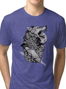 Werewolf Therewolf Tri-blend T-Shirt