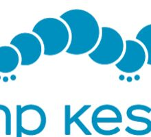 Camp Kesem Blue Sticker