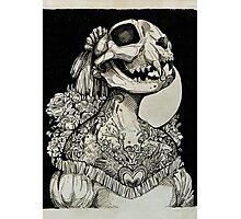 The Tattooed Girl Photographic Print