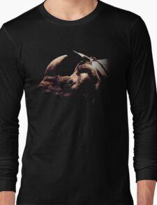 rhino colored Long Sleeve T-Shirt