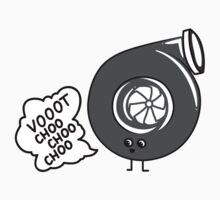 What does the turbo say? Kids Tee