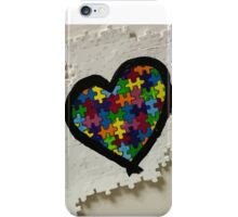 Autism love iPhone Case/Skin