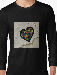Autism love Long Sleeve T-Shirt