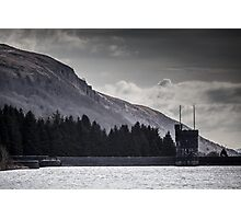 A Dark and Moody Beacons Reservoir Photographic Print