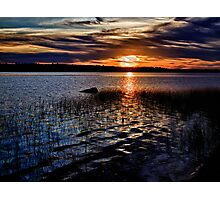 "Sunset On St. Mary""s Bay Photographic Print"