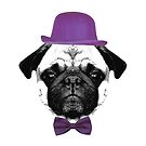 Mops Puppy French Bulldog by fuxart