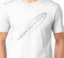Stylized Feather Unisex T-Shirt