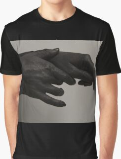 Grey Hands Graphic T-Shirt