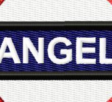Angel Tube Sign Sticker